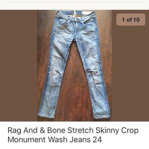 Rag and bone skinnies xlnt 24